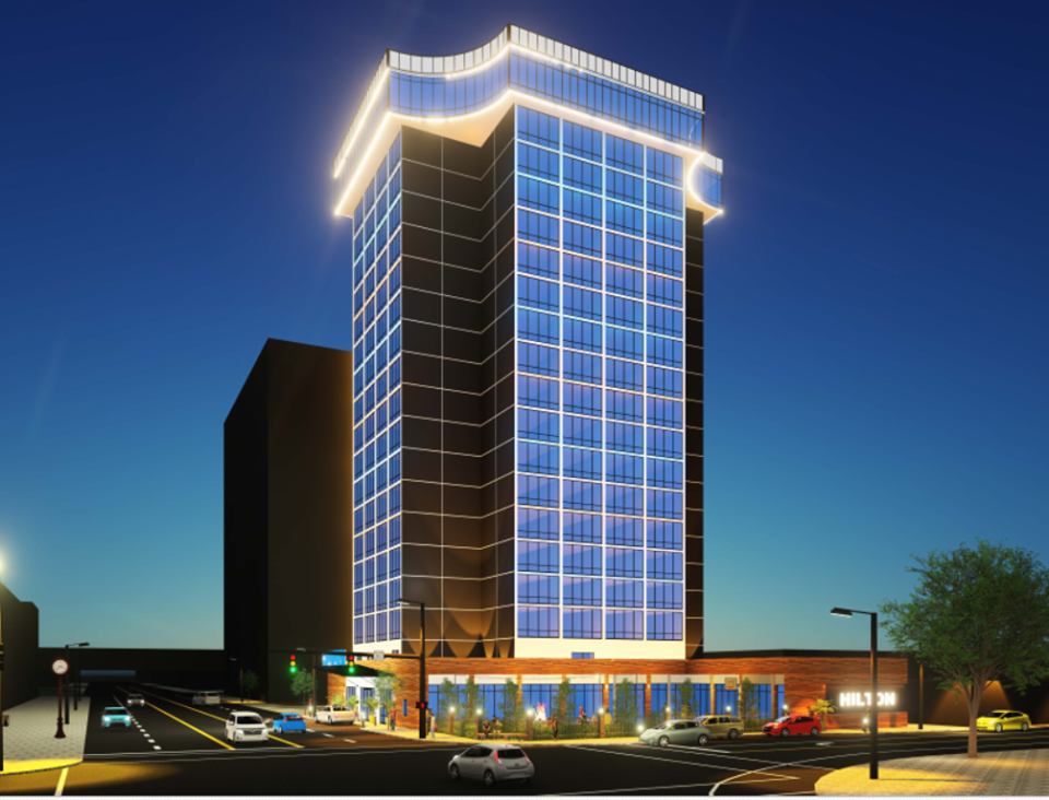 Lucas County Commissioners Announce 30 Million Downtown Hotel Project